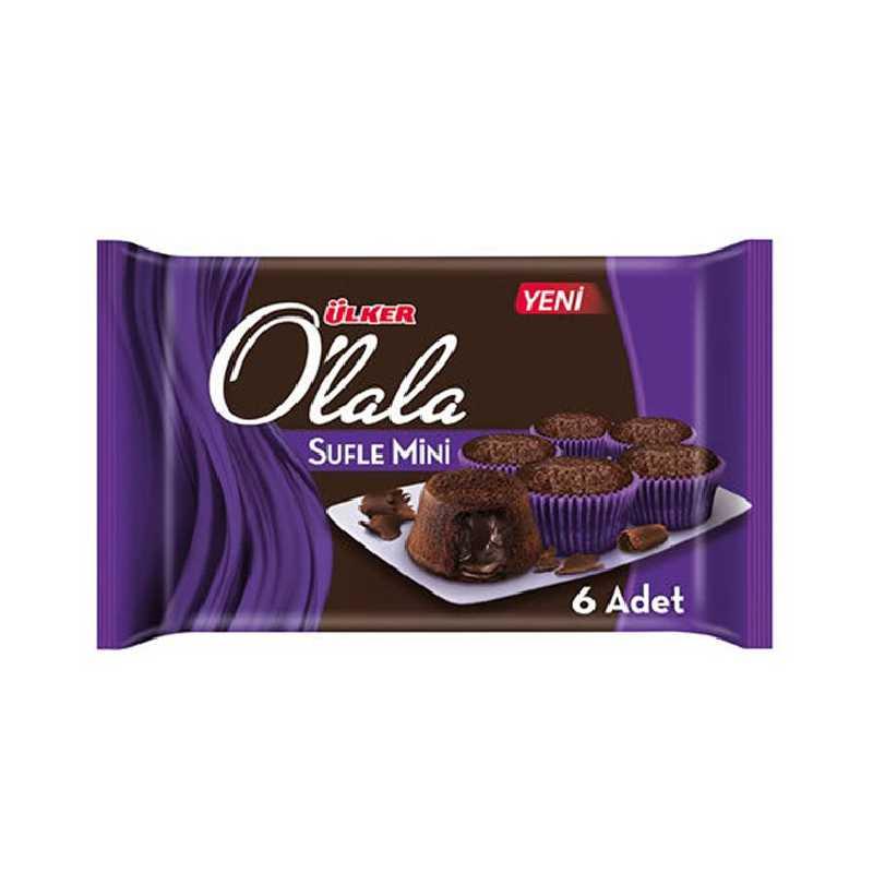كب كيك اولالا بالشوكولاتة مستورد 162gx12 متجر سارونا