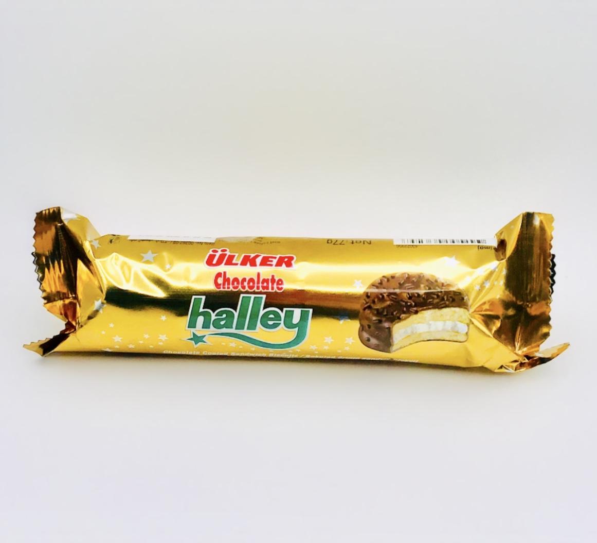 بسكويت ساندويش هالي ميني اولكر مغطى بالشوكولاتة 6 24 متجر سارونا